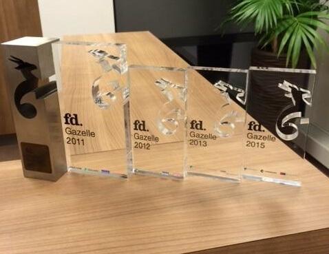 FD Gazelle Award voor Leap. The Innovation Agency