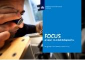 Rapport 'Focus op speur- en ontwikkelingswerk' 2014 gepubliceerd