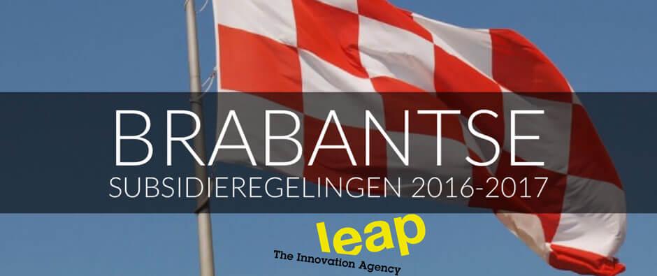 Brabantse subsidieregelingen 2016-2017