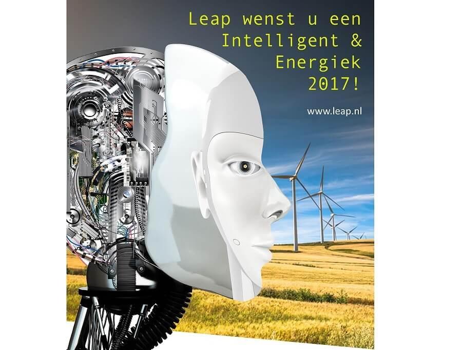 Leap wenst u een intelligent & energiek 2017!