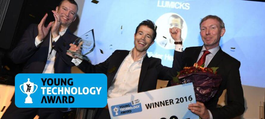 Leap, trotse sponsor van de Young Technology Award