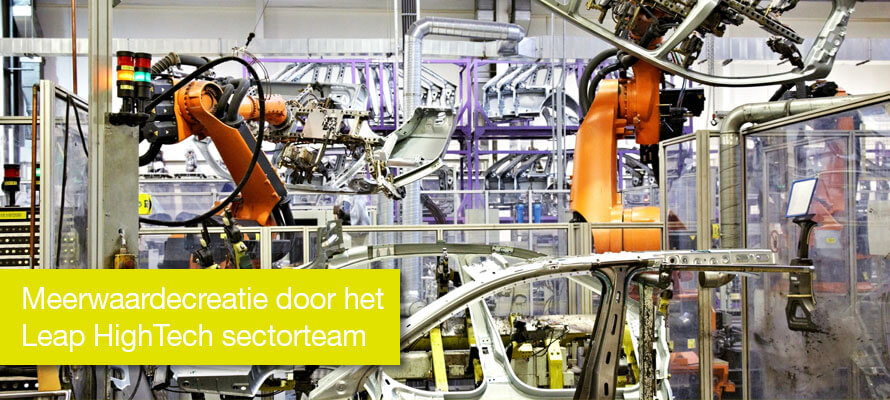 Meerwaardecreatie door het Leap HighTech sectorteam