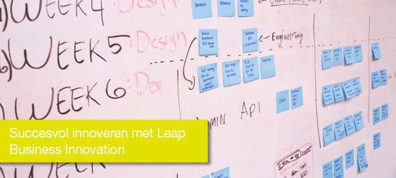 Succesvol innoveren met Leap Business Innovation