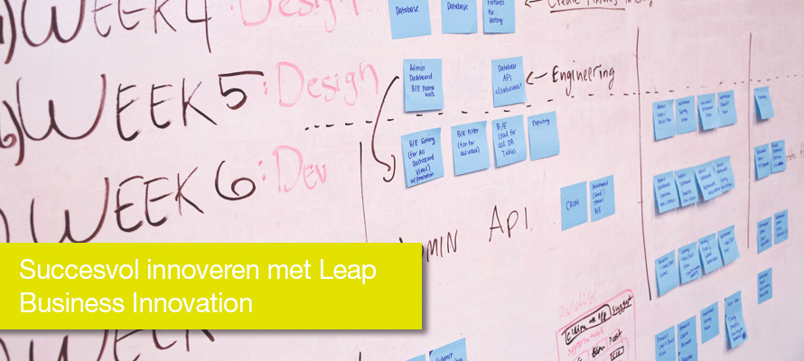 Succesvol innoveren met Leap Business Innovation