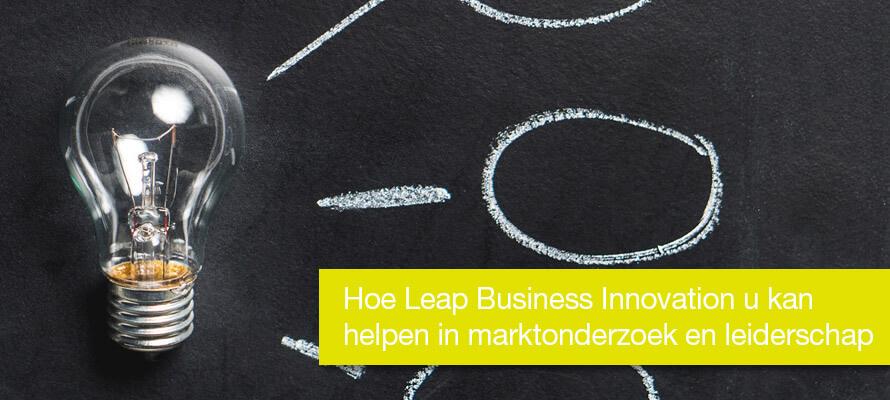 Hoe Leap Business Innovation u kan helpen in marktonderzoek en leiderschap