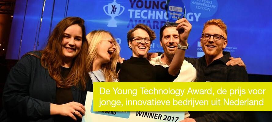 De Young Technology Award, de prijs voor jonge, innovatieve bedrijven uit Nederland