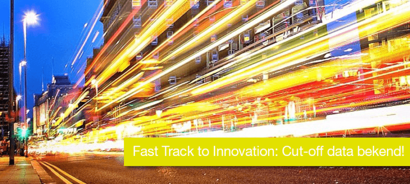 Fast Track to Innovation: Cut-off data bekend!