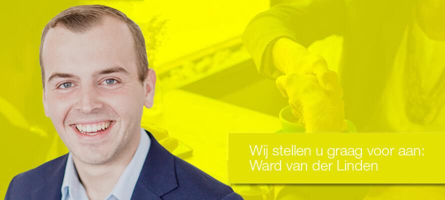 Wij stellen u graag voor aan: Ward van der Linden