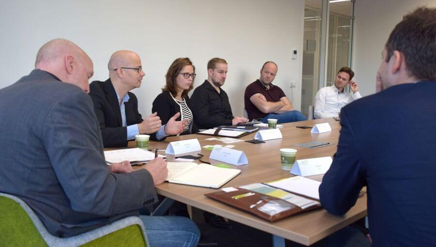 New Reality in productie-omgevingen tafelsessie Leap